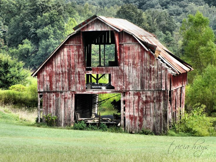 Photographs Of Old Barns | really cool old barn, although, I'm wondering if it's still standing ...
