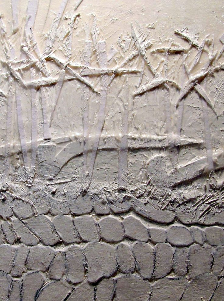 Building textures on collagraph plate Devon Hedge Bank by Lynn Bailey 11-12-2010 16-57-45