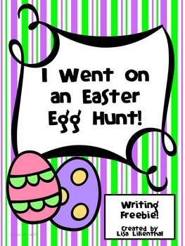 "FREEBIE! This Easter activity would be great to use after reading some fun Easter stories. Included are ""I went on an Easter egg hunt…"" brainstorming page, publishing pages with two line styles, and an Easter egg design page."