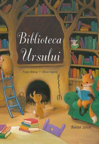 Biblioteca ursului    Iepurele iubeste povestile cu aventuri. Ariciul iubeste finalurile fericite. Iar Soarecele si Vulpoiul adora cititul impreuna. Deci, cand cei patru prieteni descopera o casa misterioasa, plina de carti, visul lor devina realitate.Dar – of si vai! – aceste cartiii apartin unui urs tare morocanos…! O poveste calda si fermecatoare despre lectua si aventura – perfecta pentru soriceii de biblioteca mari si mici!