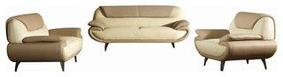 http://www.houzz.com/photos/7969693/2812-Two-Toned-Beige-Bonded-Leather-Three-Piece-Sofa-Set-modern-sofas