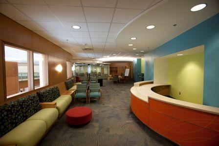 Bead Board Pediatric Waiting Room