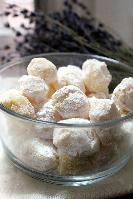 White Chocolate Saffron Truffles