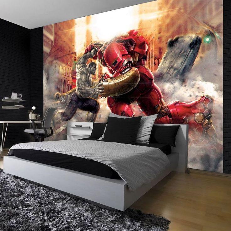 Beautiful Comic Book Wall Mural