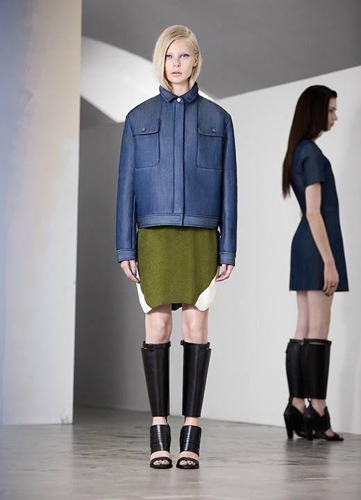 Rare & Other Stories Denim Scuba Jacket Oversized Blazer M 38 EU Style lyocell  #Otherstories #JeanJacket