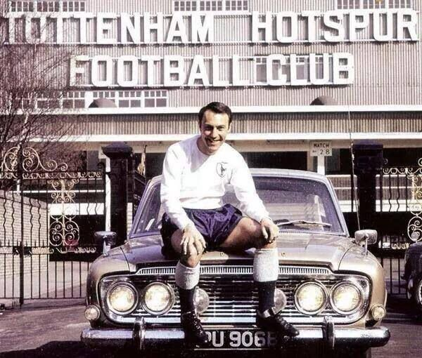 The legendary Jimmy Greaves