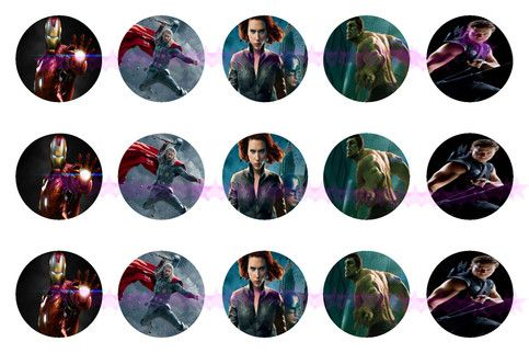 15 Avengers bottle cap images wil be emailed to your paypal email(unless otherwise noted).