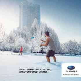 Quebec Subaru Dealers' Association: Forget winter, 1