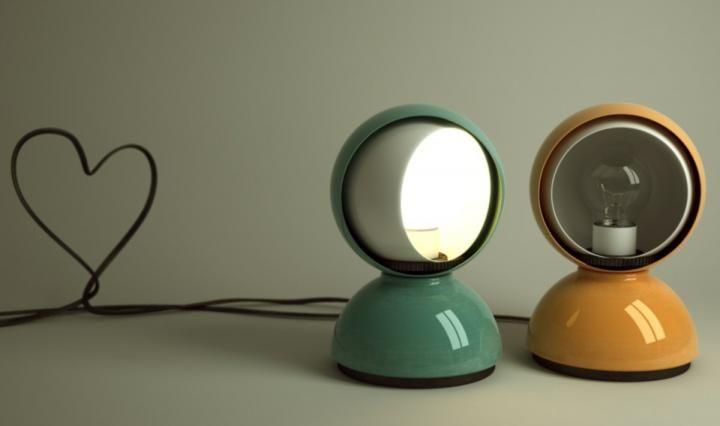 Lámparas de diseño. Lámpara Eclisse