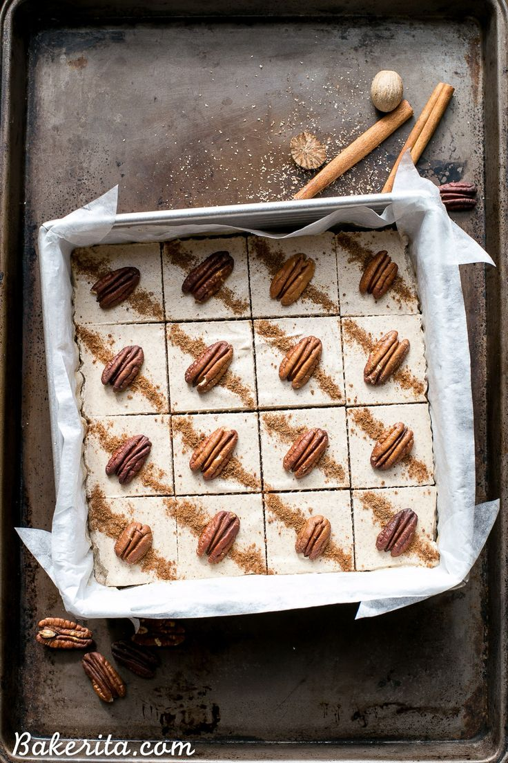 Chai Cheesecake Bars Gluten Free Paleo Vegan Recipe