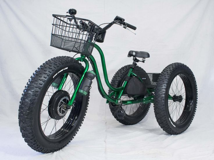 Electric Fat Tire Trike Adult Tricycle Electric Fat Tire