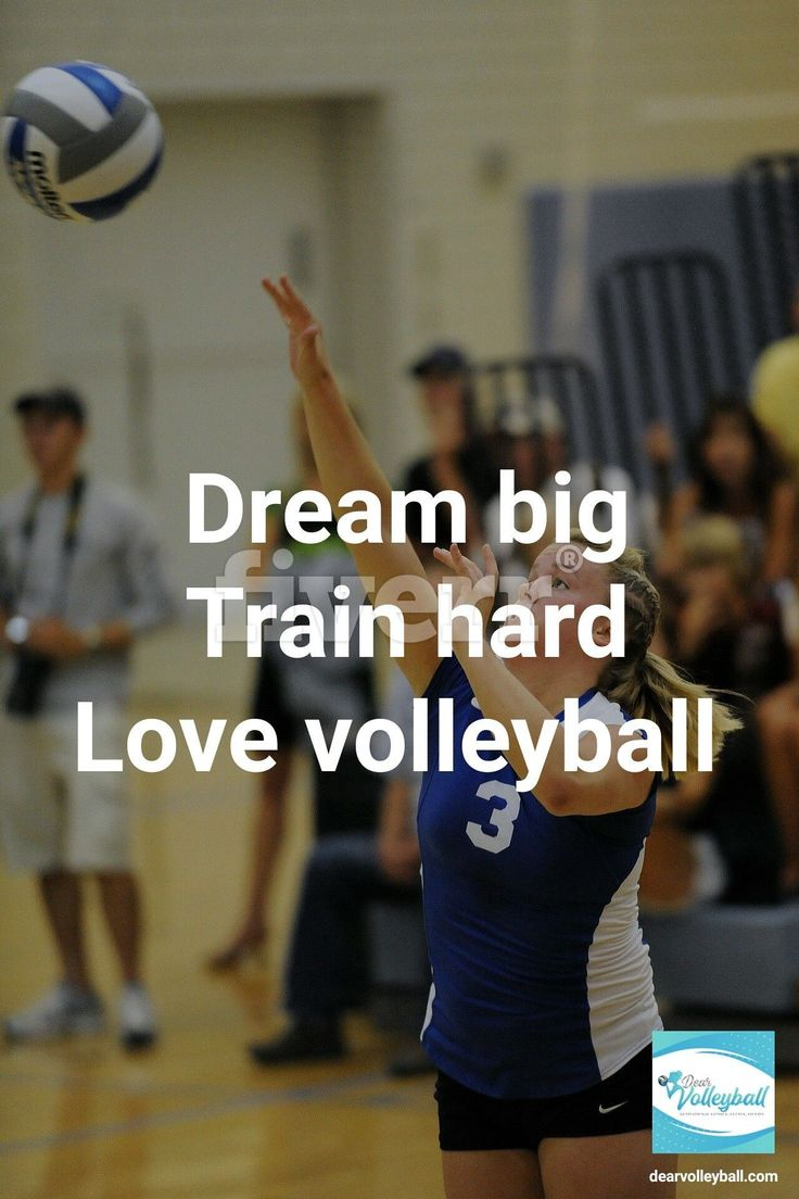 The Volleyball Quote My Club Players Were Most Inspired By