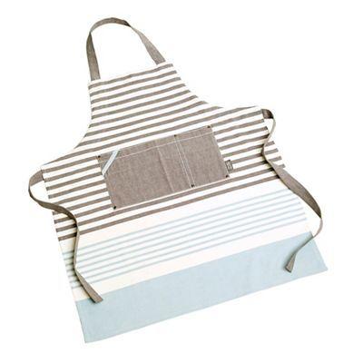 Jamie Oliver Premium stripe apron-   Debenhams