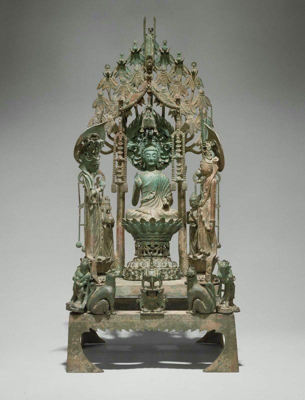Altar to Amitabha Buddha, Sui Dynasty, 593