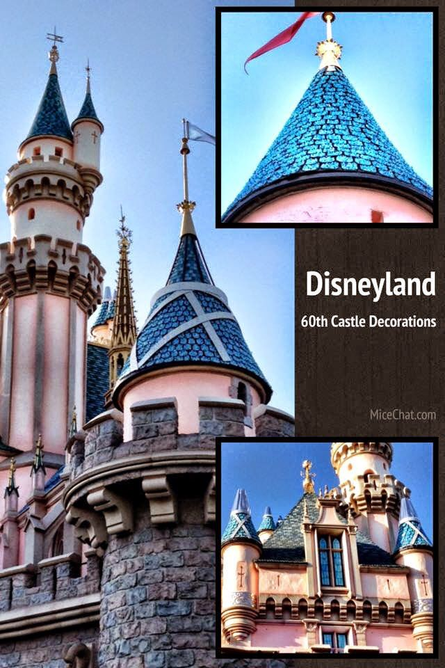 Disneyland Castle 60 th Anniversary
