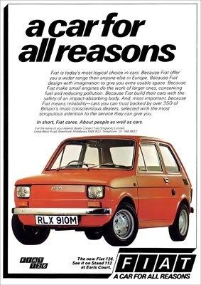 Fiat 126 - adv
