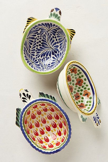 gorgeous! small turtle bowls