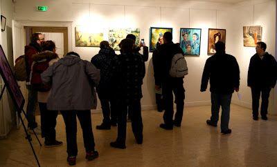 Les artistes amateurs vont tenir salon, hôtel de Savigny,à Provins... #Art #Artiste