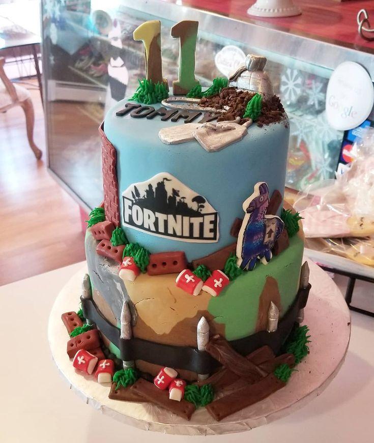 Fortnite Cake For Tommy Carinaedolce Cakery Bakery Fondant Food Cranston Ri Instacakes Straightouttacranston