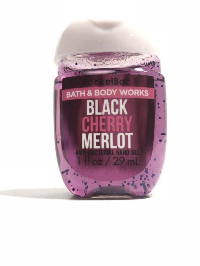 Bath And Body Works Pocketbac Hand Gel Black Cherry Merlot X2 Anti