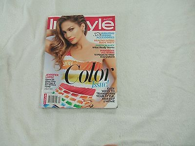 In Style Magazine ~ April 2014 ~ Jennifer Lopez Opens Up About Men, Marriage & H