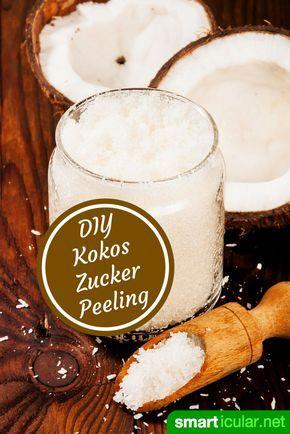 Für die Hautpflege eignet sich ein selbstgemachtes Peeling. Aus nur wenigen Küchenzutaten stellst du ein günstiges und pflegendes Peeling her.