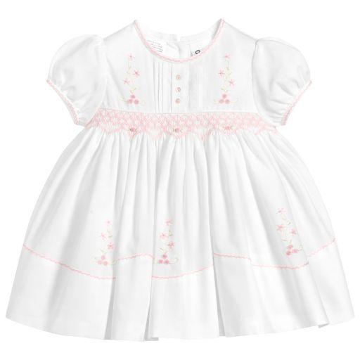 288b672b Girls Blue Hand-Smocked Dress | sarah | Dresses, Baby Dress, Fashion ...