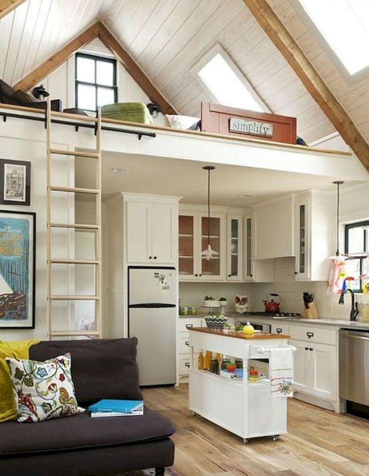 16 amazing loft stair for tiny house ideas