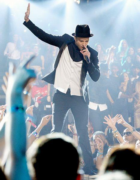 Justin Timberlake at the 2013 VMAs