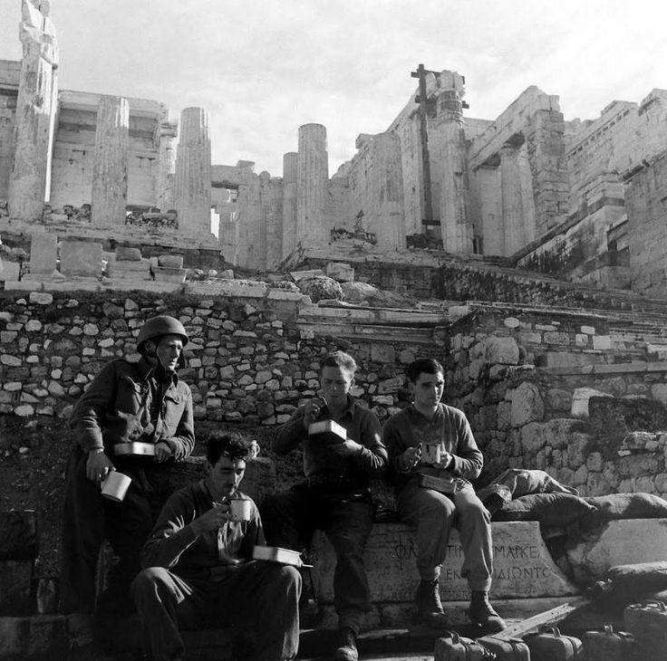 Acropolis of Athens at WW II