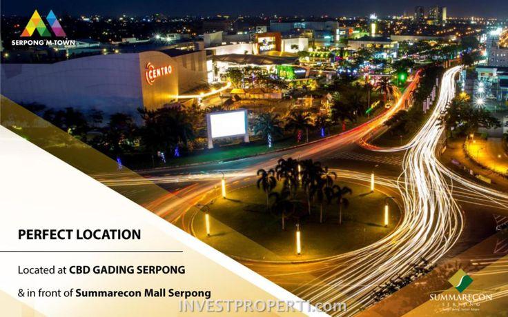Lokasi Serpong M-Town di Gading Serpong.