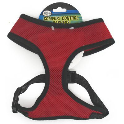 Four Paws Comfort Control Dog Harness Black - 435051, Durable