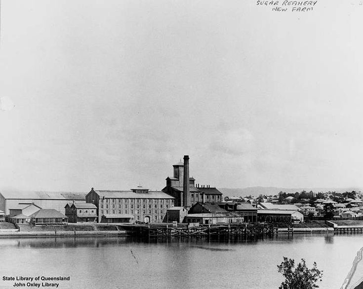 Picture of / about 'Brisbane' Queensland - Colonial Sugar Refinery, New Farm, Brisbane, ca. 1902