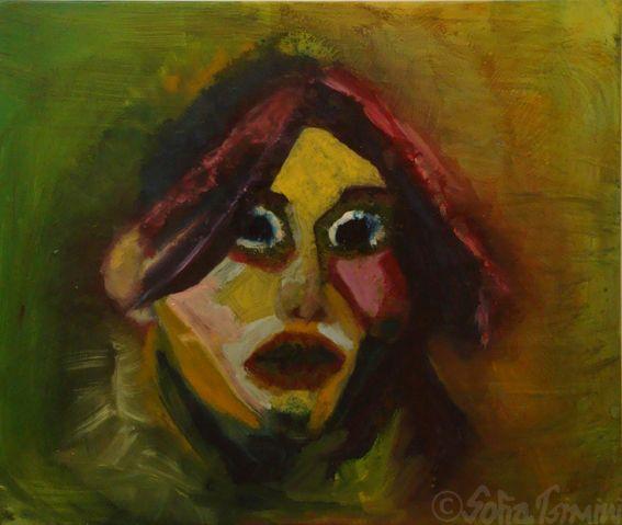 #sevgili , oil painting, #lost , #Σοφία #Τσιμίνη