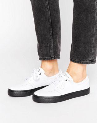 Nike SB Zoom Premium Janoski Trainers In White