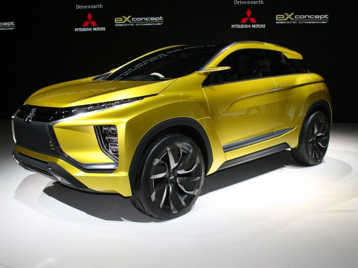 Mitsubishi showed off its latest plug-in electric crossover concept.