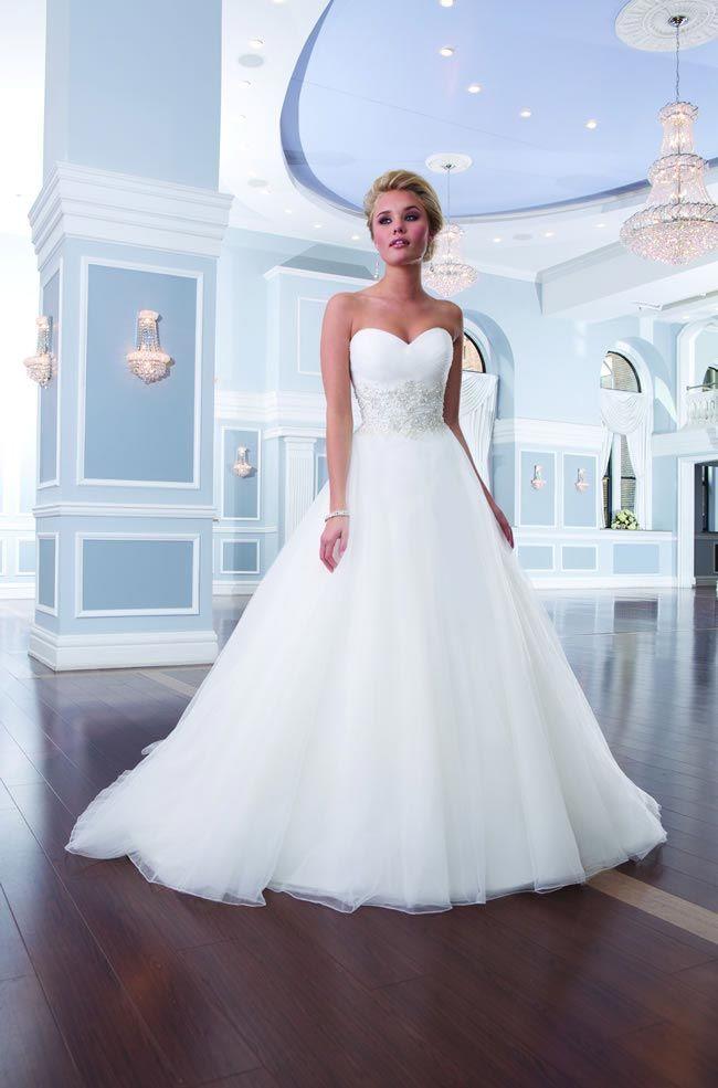 Elegant new wedding dresses from Lillian West 6303