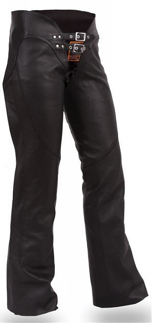 Womens Double Belted Chap with Adjustable thigh fitting - Rocky Top Leather