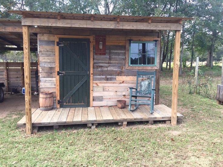 DIY Pallet Shed Pallet Outdoor Cabin Plans Pallets
