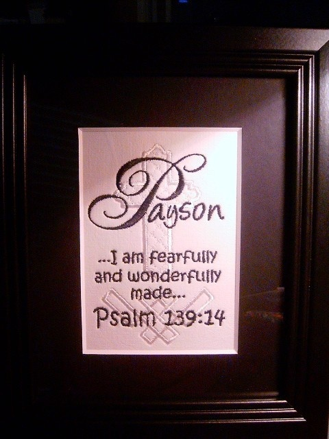 bible verses for baptism decor - Google Search