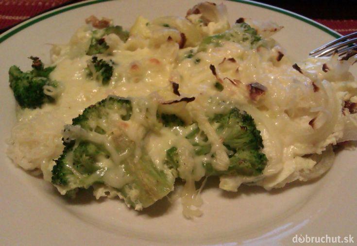 Fotorecept: Zapekaná brokolica s bryndzou