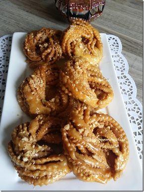 Griwech Gâteaux Algériens pour le ramadan 2015 - gourmandiseassia