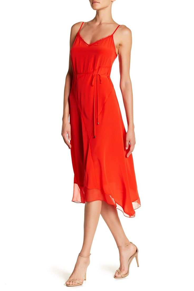 Shirley V-Neck Silk Dress
