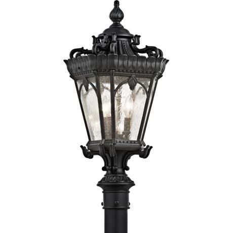 Check Out The Huge Savings On New Kichler Tournai Outdoor Post Lantern  Textured Black At LampsUSA!