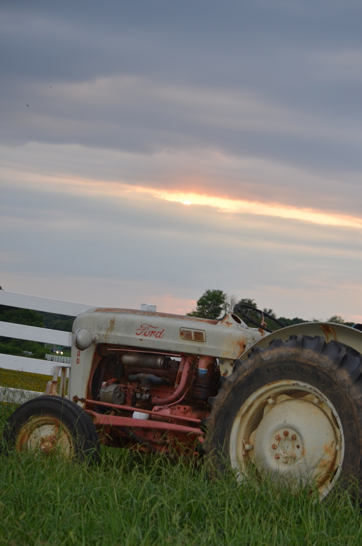 tractor and sunsetTractors, Sunsets, Photography