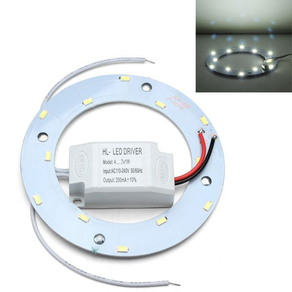 LED 6W Round Ceiling Lamp Chip 85-265V With Transformer And Magnet