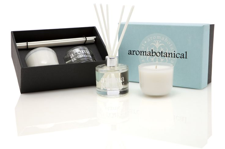 White Jasmine & Sandalwood Mini Gift Set #aromabotanical