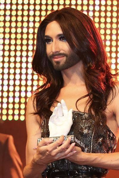 "Conchita Wurst gets the ""Unstoppable: Conchita Wurst Award"" at the Zurich Pride Festival. 13.06.2014"