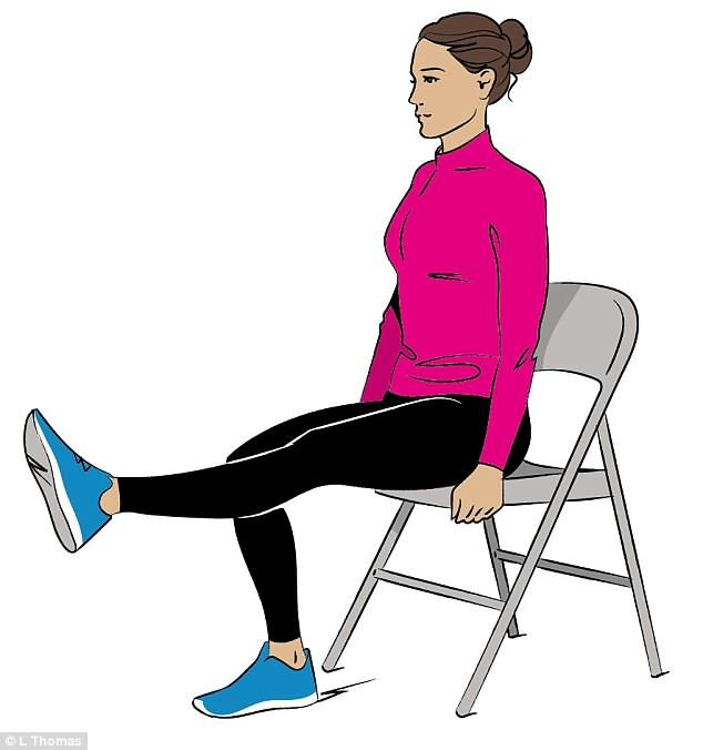 The Best Exercise For Tighter Skin Around Your Knees Knee Exercises Big Muscle Training Quad Muscles