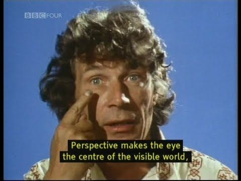 John Berger / Ways of Seeing , Episode 1 (1972) https://www.youtube.com/watch?v=0pDE4VX_9Kk - A BAFTA award-winning BBC series with John Berger, which rapidly became regarded as one of the most influential art programmes ever made.  Created chiefly by writer John Berger& producer Mike Dibb. Berger's scripts were adapted into a book of the same name. The series and book criticize traditional Western cultural aesthetics by raising questions about hidden ideologies in visual images.